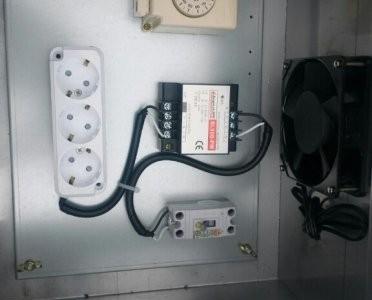 팬스 외부 및 실내 CCTV