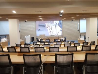 창원 효성 중공업 멀티 회의실