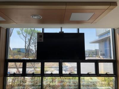 현풍 대주기계 식당, 각층 AV음향,카메라 설치완료