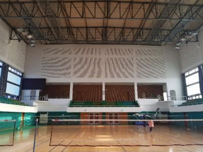 사천실내체육관 방송장비 설치