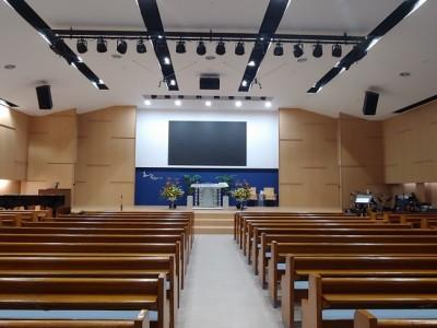 한남교회 LED 스크린