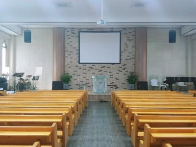 울산화평교회 LED스크린