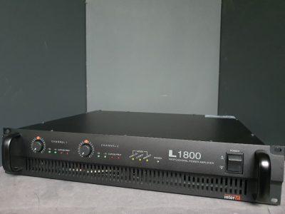 중고 파워앰프 INTER-M L1800
