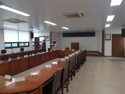 도천면사무소 회의실