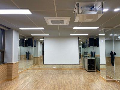 함안 청소년 문화의집 3층 댄스연습실 AV설비