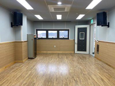 함안 청소년 문화의 집 3층 악기연습실 음향설비