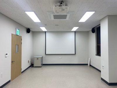 함안 청소년 문화의집 3층 방과후교실 AV설비