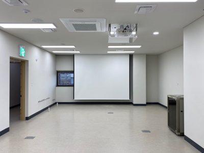 함안 청소년 문화의 집 3층 요리실습실 AV설비