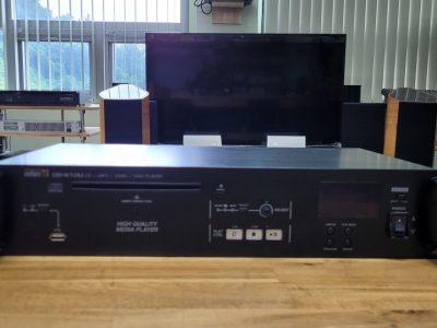 Inter-M / CD-610U//CD MP3 WMA/USB 포트/디지털 멀티소스 플레이어