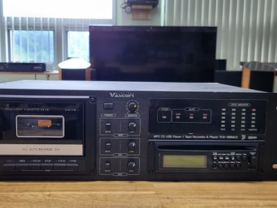 VASCOM /TCD-308MU3/다목적 소스기기(AM/FM Tunner,CDP(MP3+USB Stick),Cassette Deck)